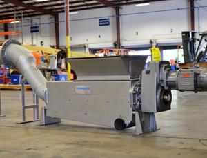 Whiteitp Shark Washing Compactor. Screenings Handling
