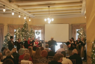 Holiday Choir in Ballroom