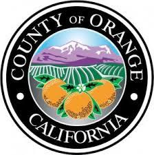 County Orange Seal Large