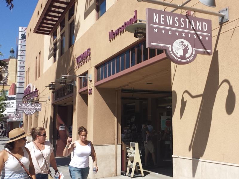 Sidewalk Newstand