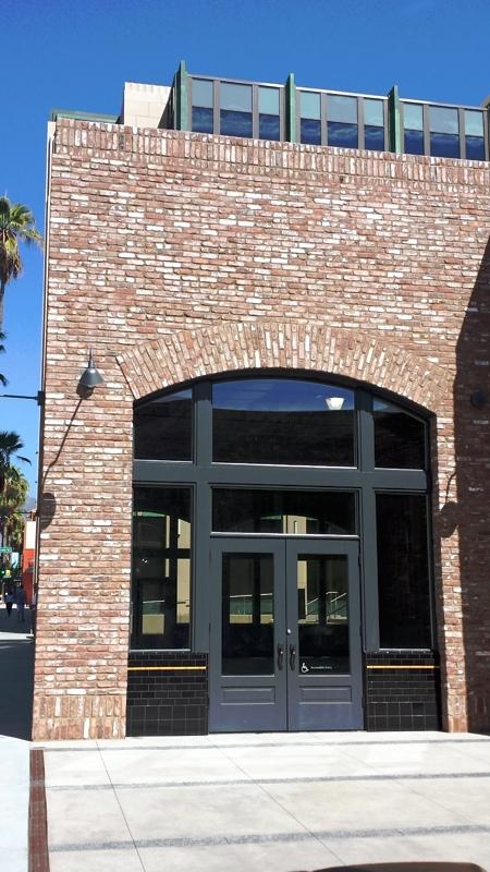 Office Complex Courtyard Facade
