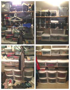 Walk-in Closet Before & After