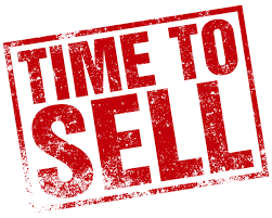 """Time to Sell"" Sign"