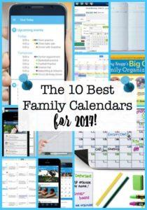 Family Calendars help you stay organized