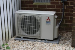Mitsubishi ductless system testimonials - Unit running very quite - Testimonial to Williamsburg Heating & Air Conditioning