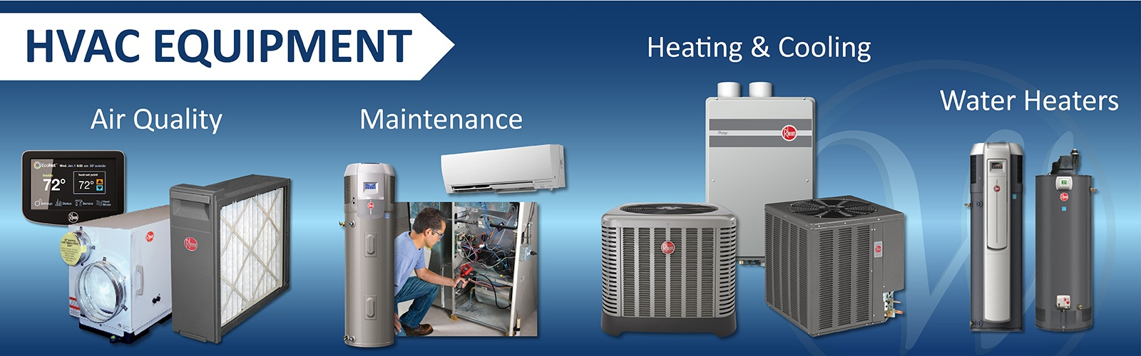 Williamsburg Heating and Air Conditioning - Williamsburg Virginia - Install and maintain HVAC equipment
