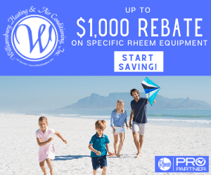 Williamsburg Heating & Air Conditioning - Rebates