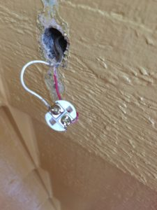 replacing doorbell button replace