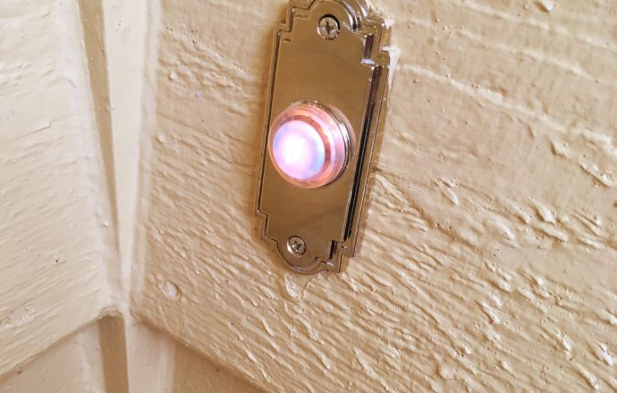 replacing doorbell button diy replace