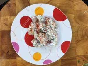 copycat ukrop's redskin potato salad
