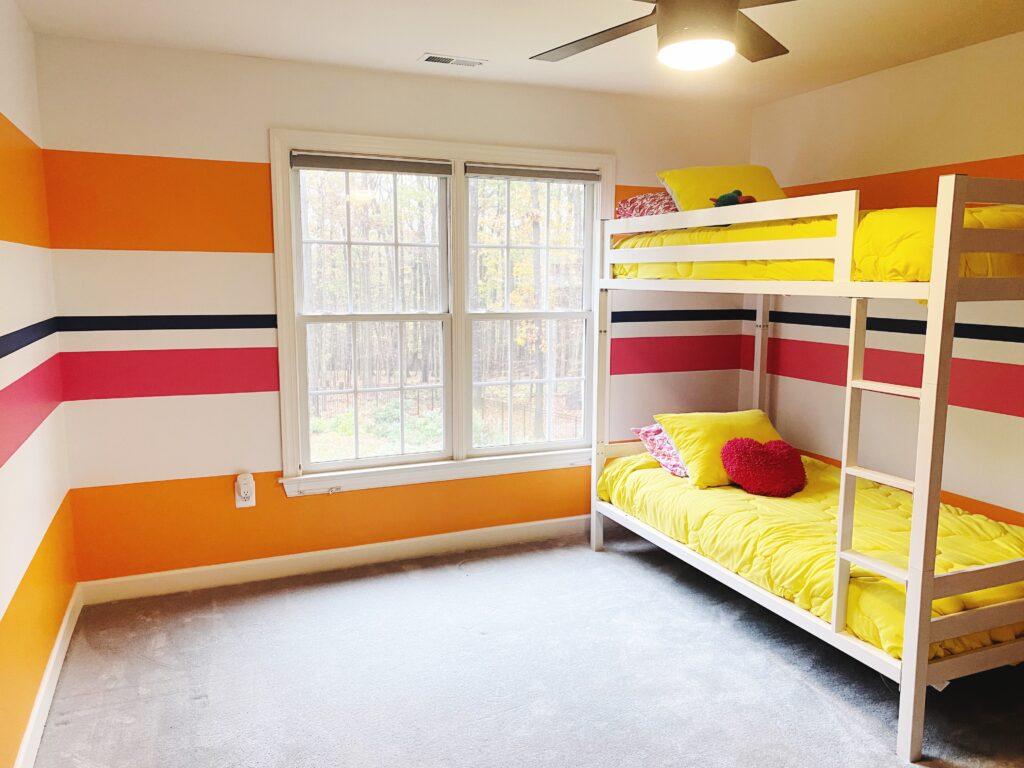 paint horizontal stripes horizontally striped walls