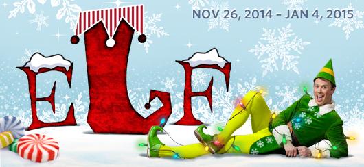 "Papermill Playhouse ""Elf"""