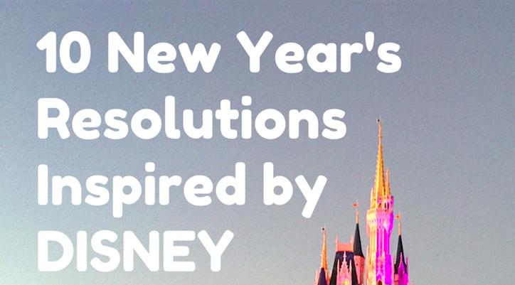 new years resolutions disney