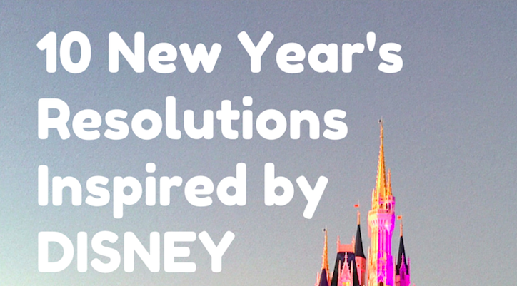 new years resolutions disney