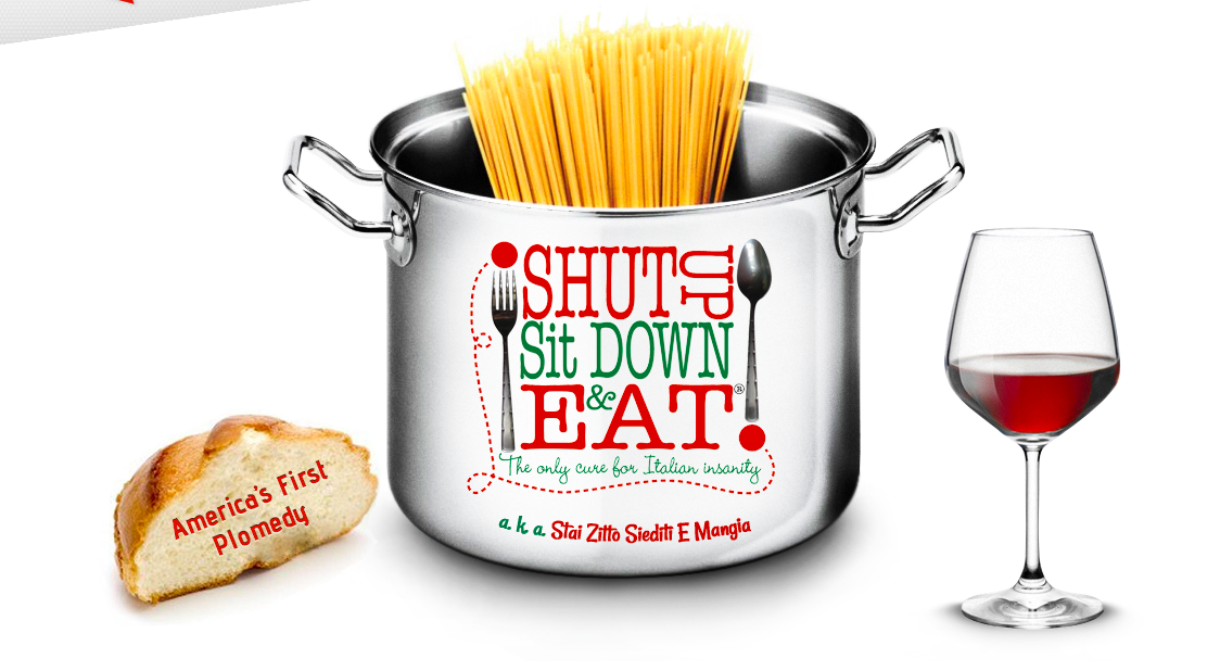 shut up sit down and eat