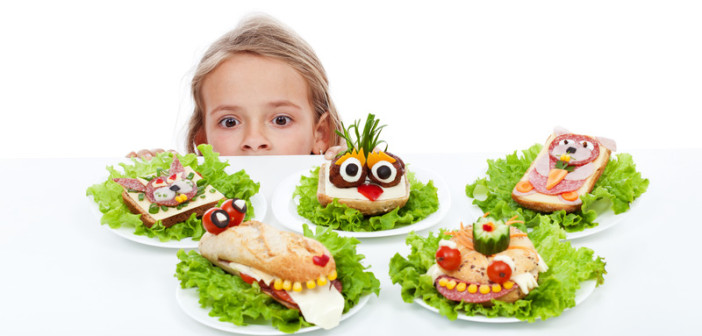 creative lunch ideas kids