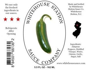 Jalapeno label