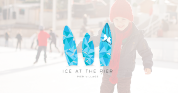 ice rink at pier village