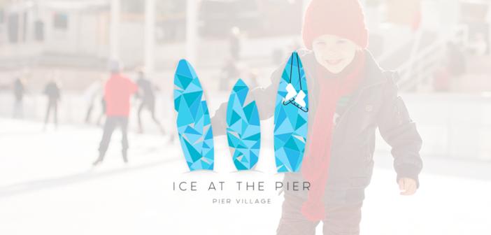 ice rink at pier village