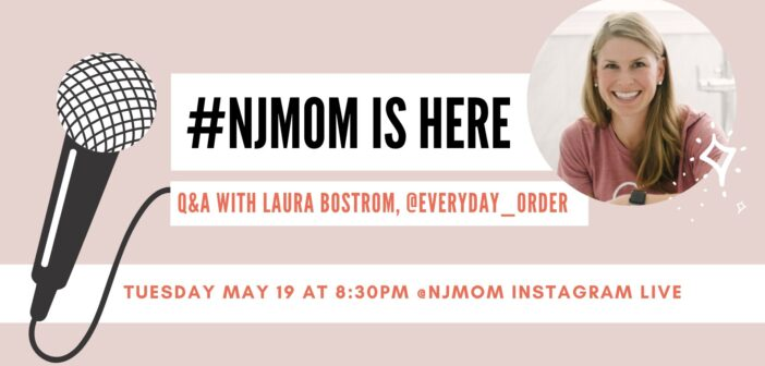 njmom is here series Laura bostrom everyday order