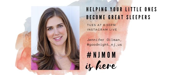 Jennifer Gilman NJ mom IG live goonight sleep site