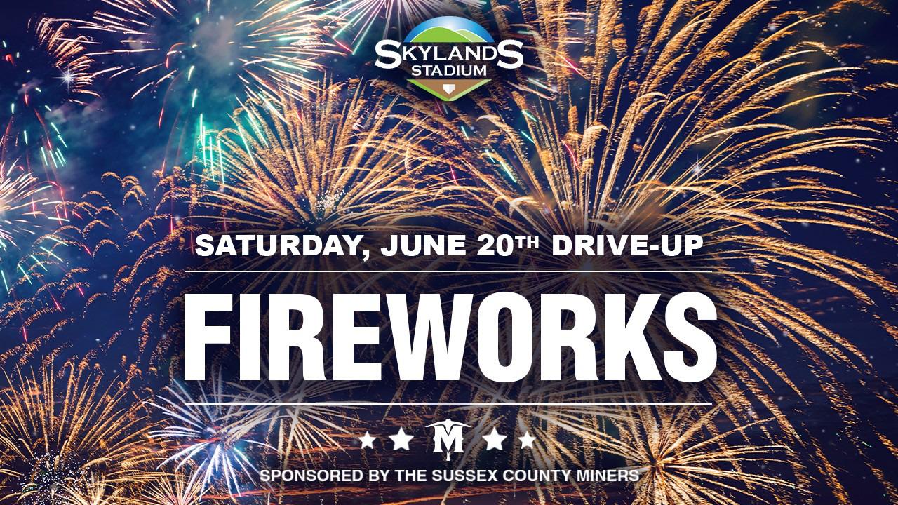 fireworks at skylands stadium New Jersey