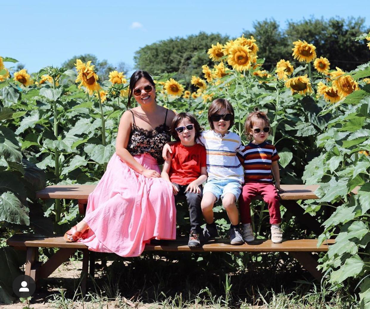 nj mom sunflower farms New Jersey sunflowers fields mazes