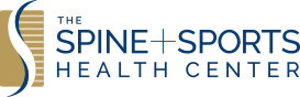 nj mom spine and sports health center logo new jersey
