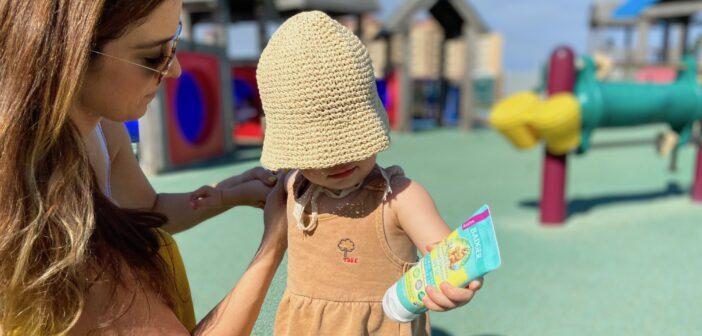 nj mom Baby sunscreen babyganics sunscreen best baby sunscreen aveno blue lizard kids sunscreen
