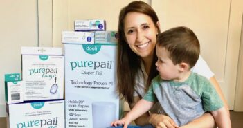 nj mom Alison Diamond and Baby Dooli PurePail Diaper Pail our njmompreneur of the week 4 copy