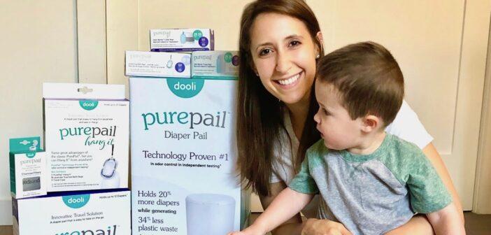 nj mom Alison Diamond and Baby Dooli PurePail Diaper Pail our njmompreneur of the week 4 copy