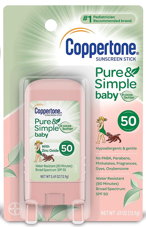 nj mom Baby sunscreen babyganics sunscreen best baby sunscreen aveno blue lizard kids sunscreen Coppertone