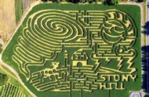 NJ corn maze corn maze in NJ Stony Hill Farm NJMOM