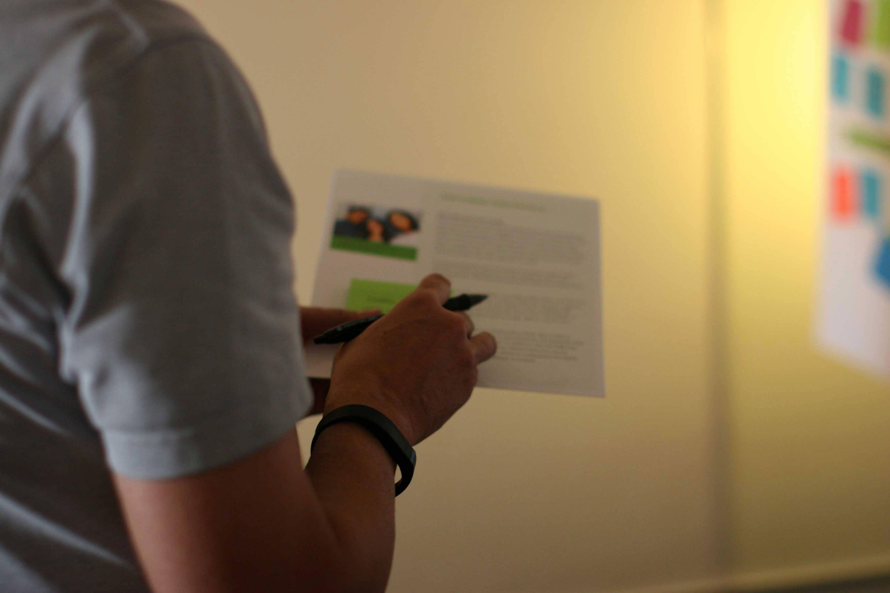brand workshop-empathy mapping