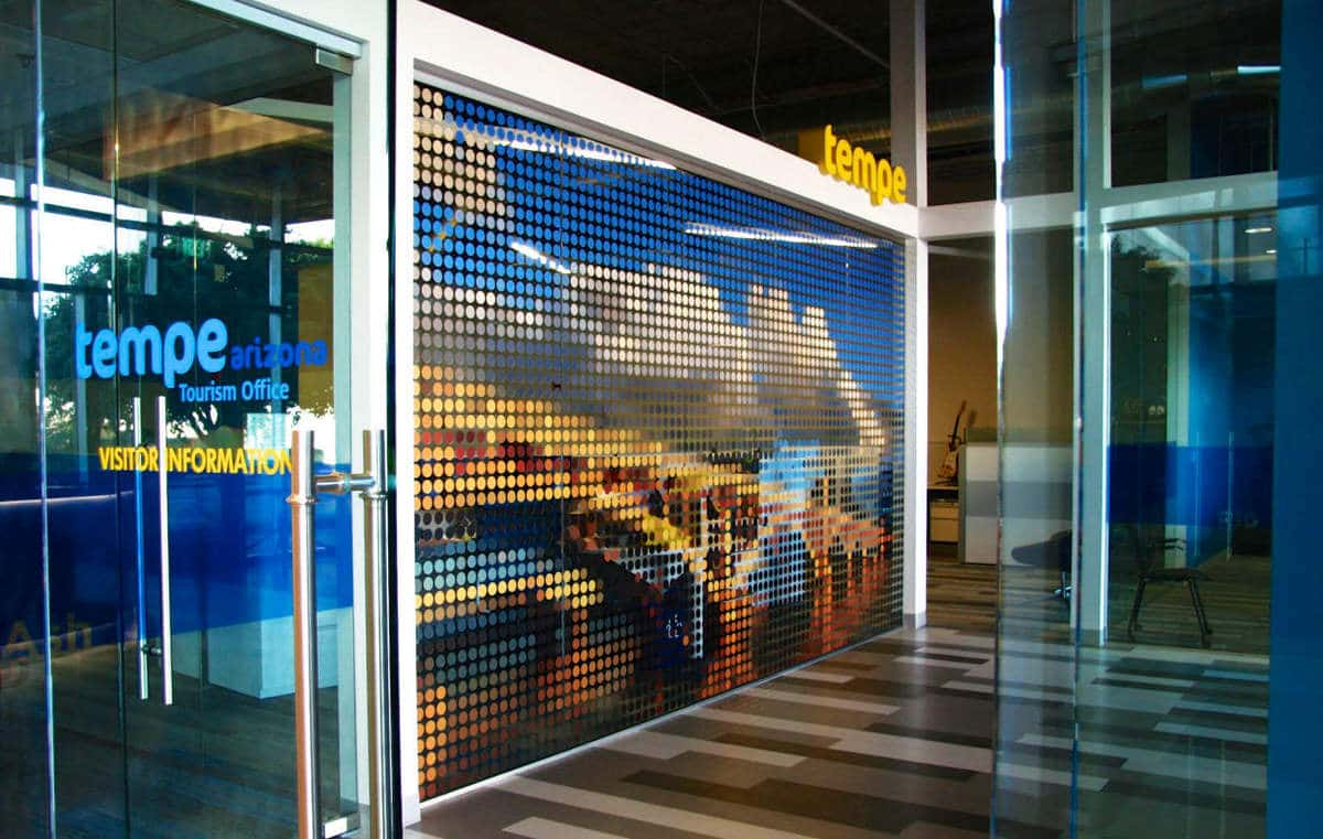 Tempe Toursim Office Environmental Graphic Design Installation