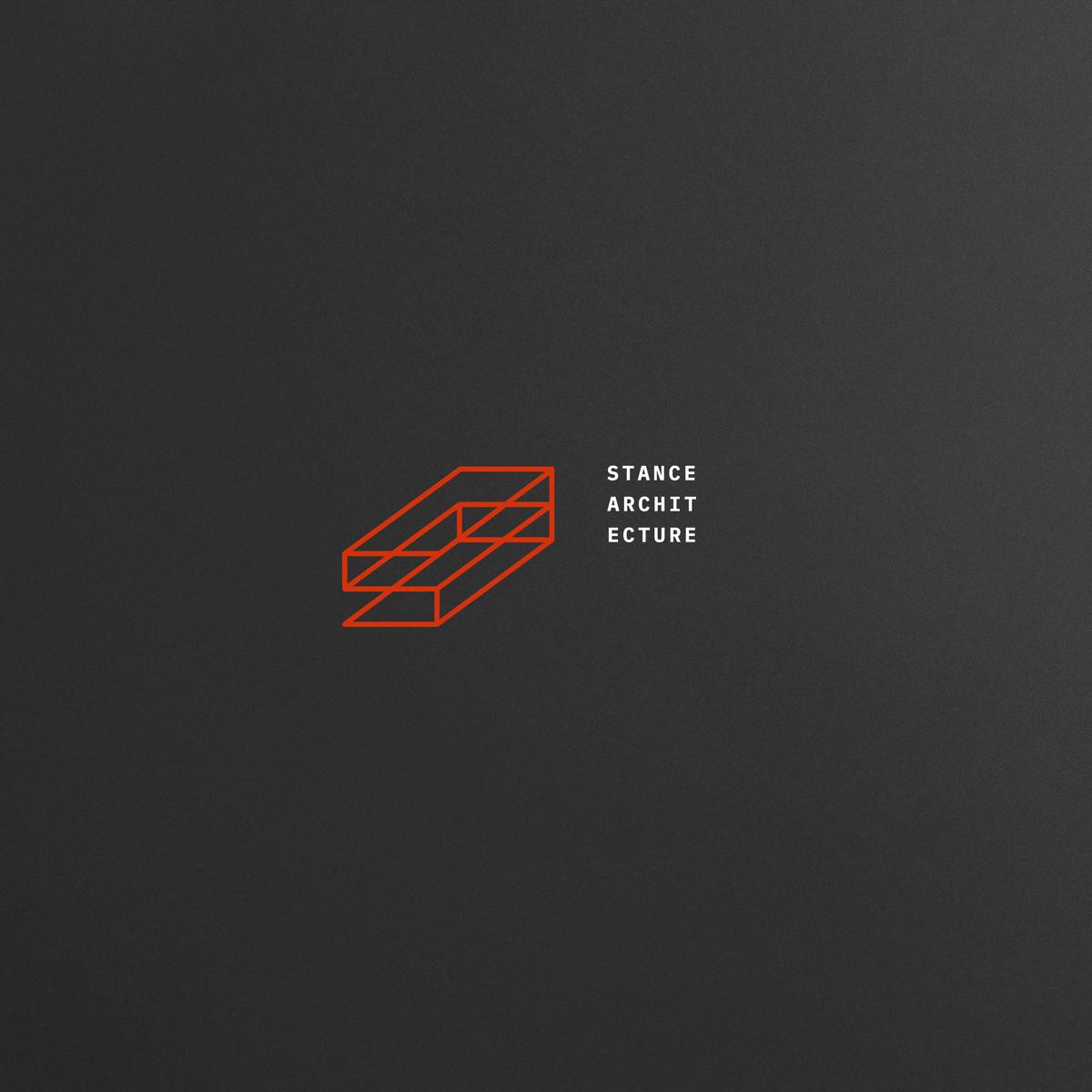 architecture firm branding, Stance logo lockup