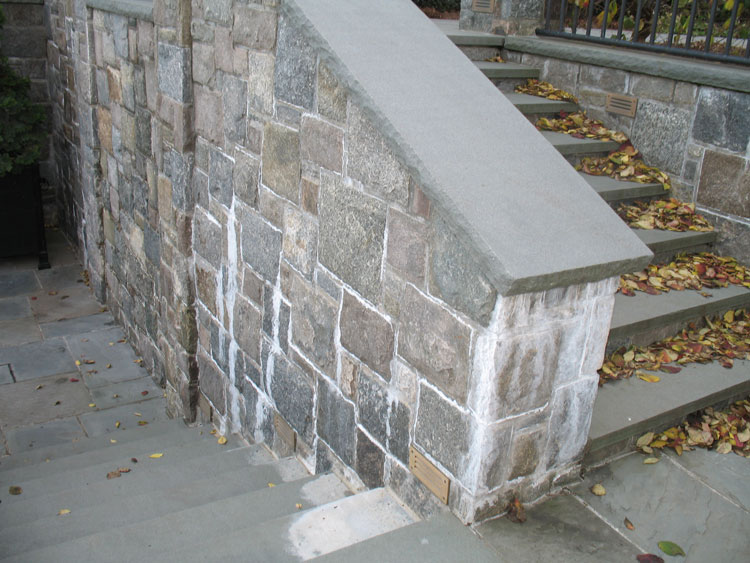 How to Prevent Efflorescence and Salt Buildup on Your Stone Veneer - Sharp  Stone Supply