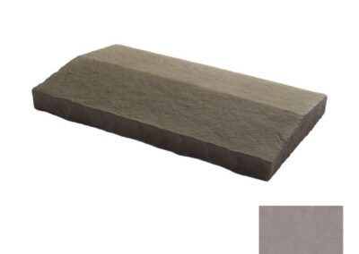 Flagstone Sloped Wall Cap Gray