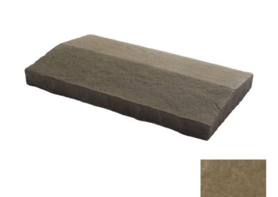 Flagstone Sloped Wall Cap Sable