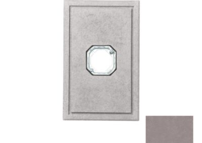 Large Light Fixture Gray
