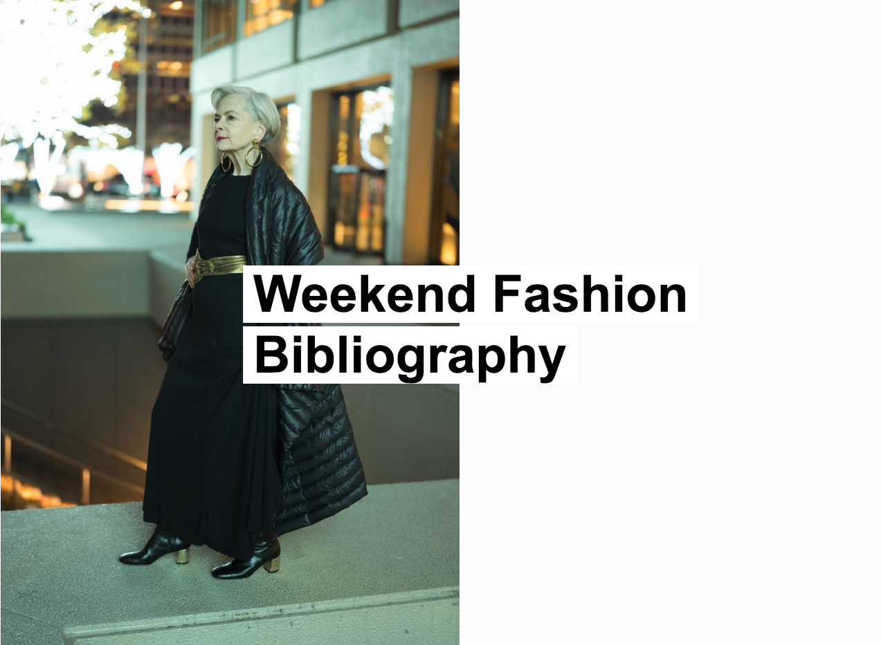 Weekend Fashion Bibliography