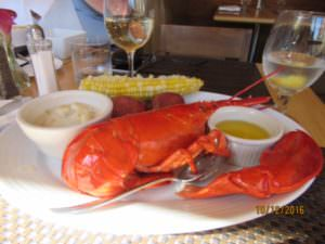 $20 lobster meal in downtown Boston