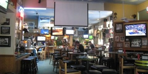Stadium Pub Walnut Creek big screen