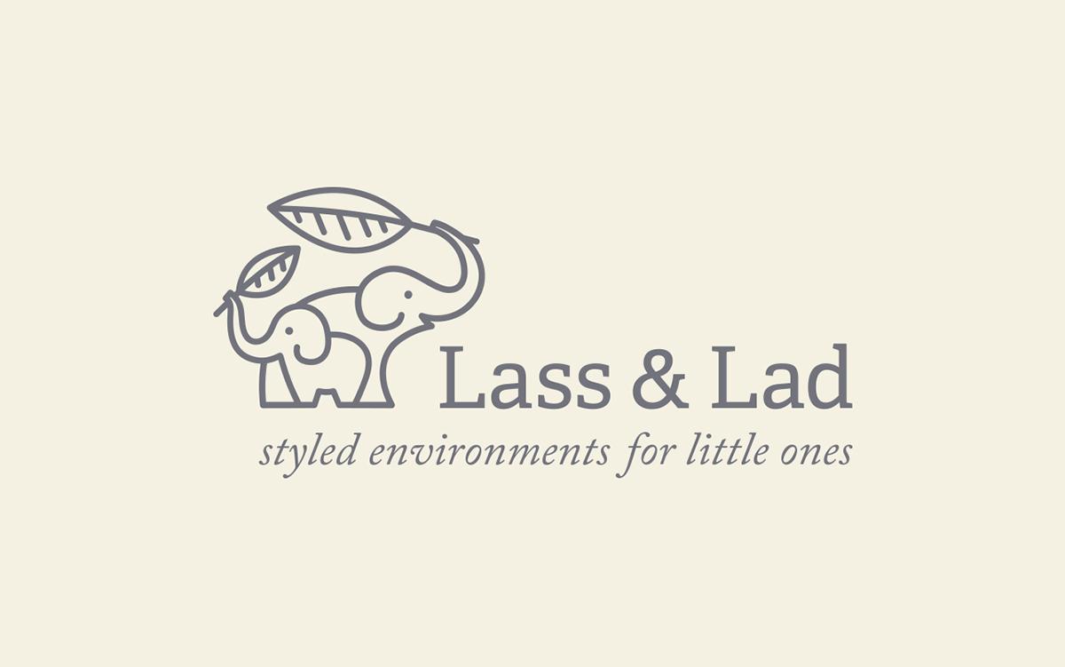 Lass & Lad Logo