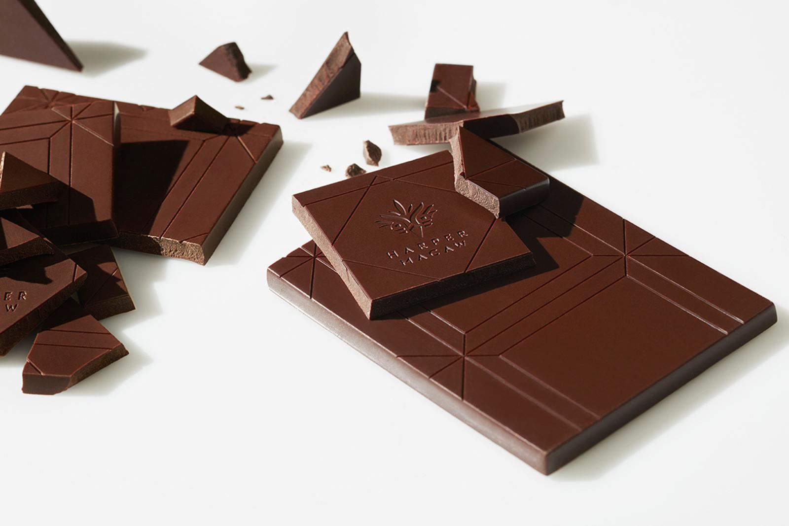 Harper Macaw chocolate bar