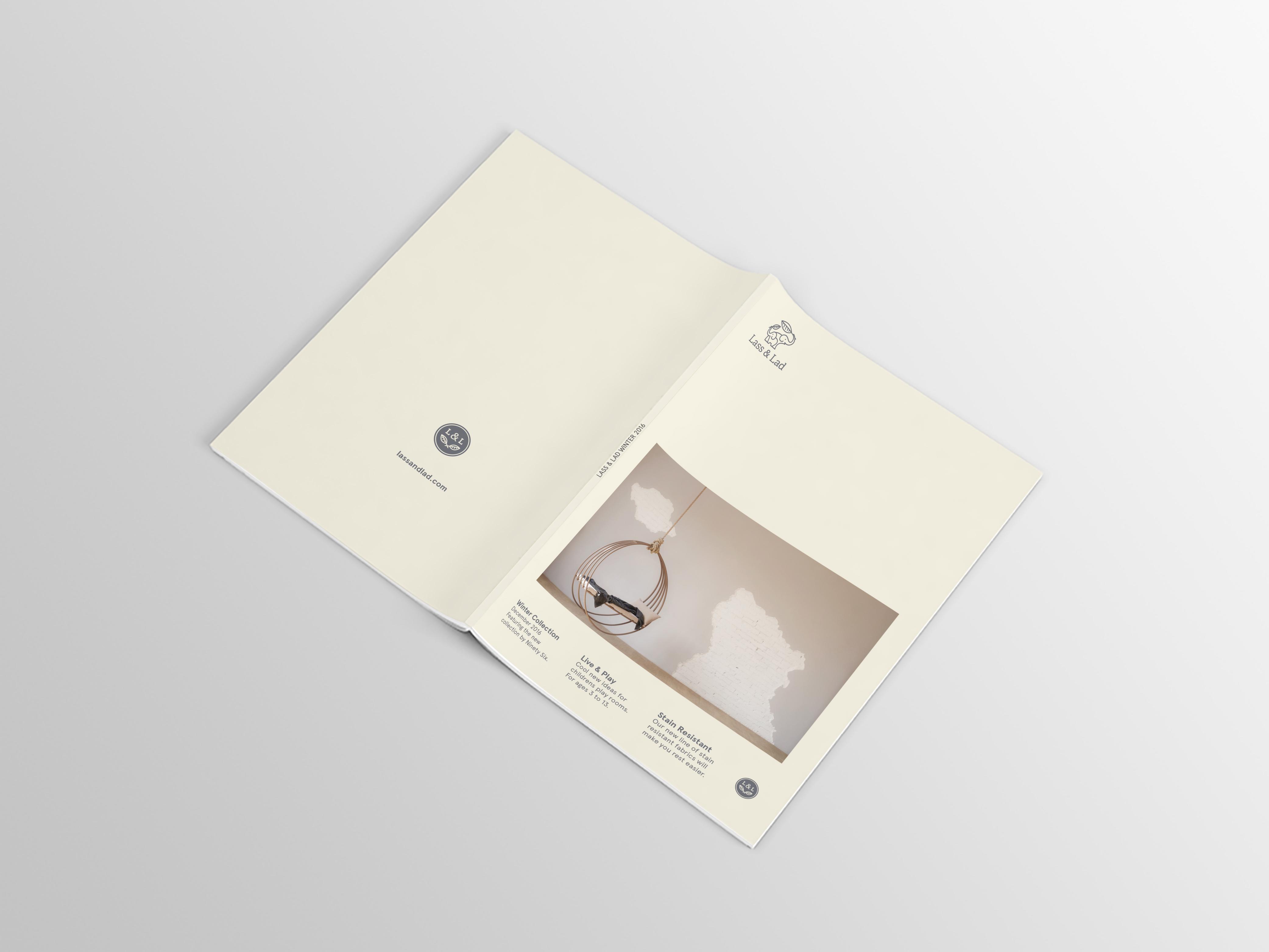 Lass & Lad product magazine