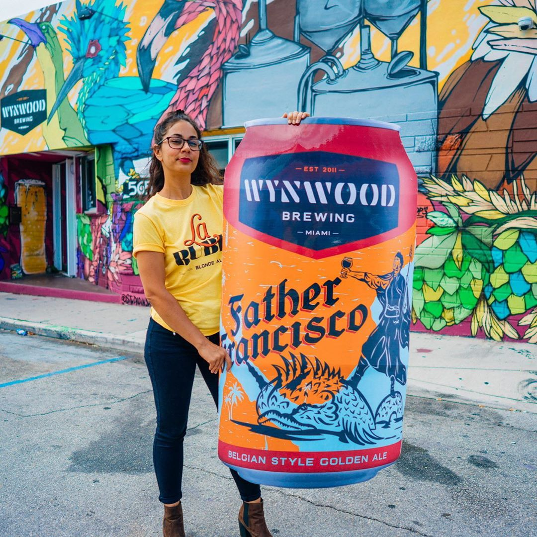 Wynwood Brewing Father Francisco