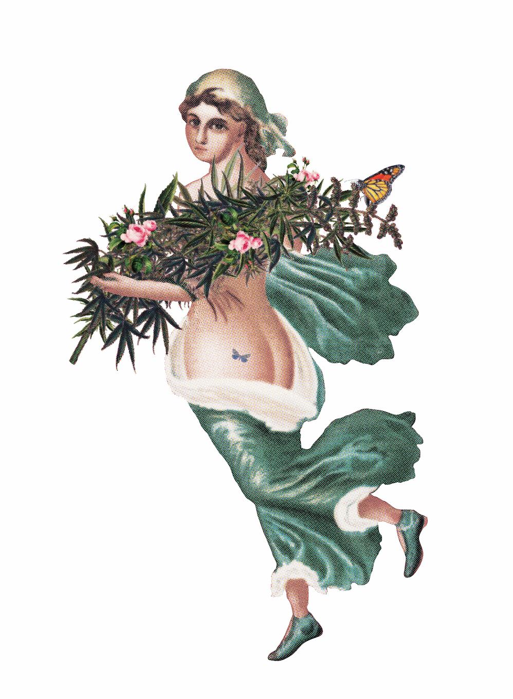 goddess of marijuana