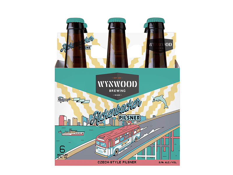 Wynwood Brewing Rickenbacker Pilsner