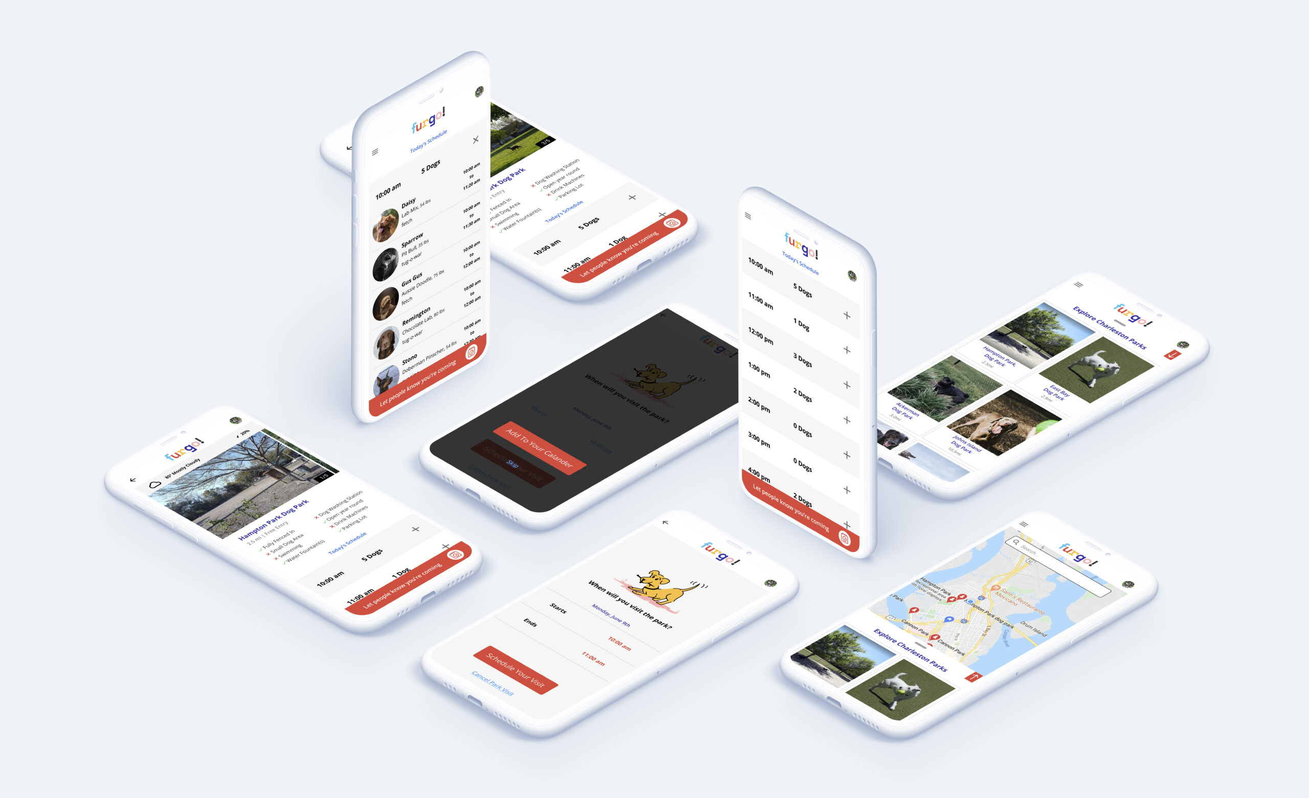 Furgo iphone 11 mockups